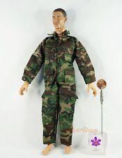 Action Figur 1:6 Modell Accessory US Militär  Marine Flight Suit Uniform DA168