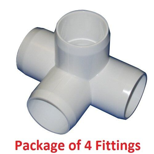 4 Way Side Outlet Tee Pvc Ing