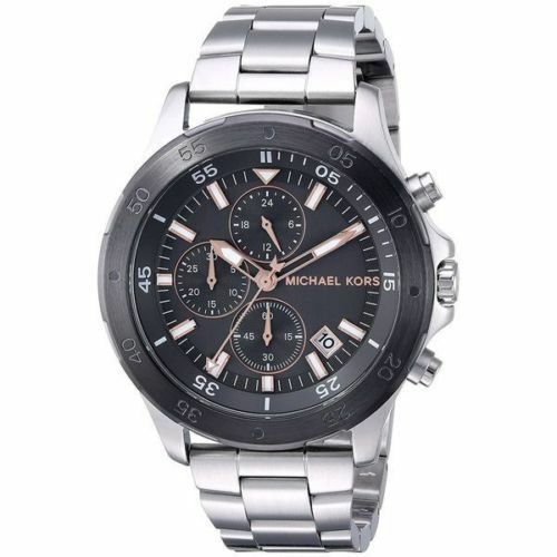 1ad24b4e8dee Michael Kors MK8569 Men s Walsh Stainless-steel Chronograph Watch for sale  online