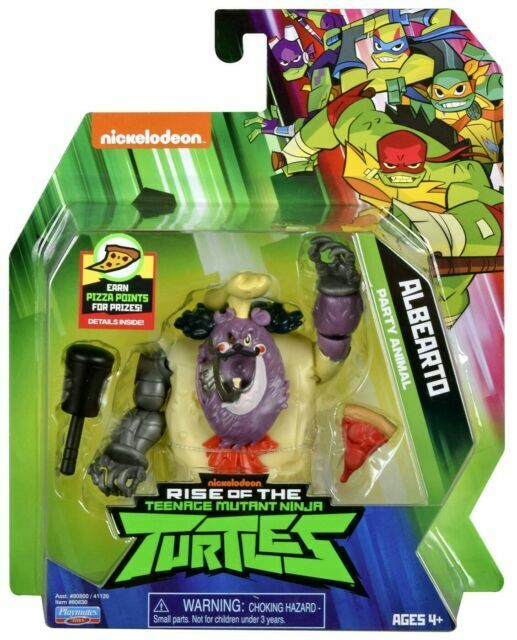 "Rise of the TMNT 4"" Action Figures Nickelodeon Teenage Mutant Ninja Turtles"
