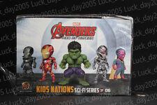 Kids Logic Avengers Age of Ultron Ironman Hulk Vision LED Earphone Plugy 5pc Set