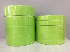 """3M Green 233+ 6 Rolls of 26334 3/4"""" and 4 Rolls of 26338 1 1/2"""" Masking Tape"""