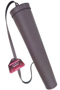 FINE SYNTHETIC LEATHER BACK ARROW QUIVER ARCHERY PRODUCTS BFSAQ8316 BROWN.