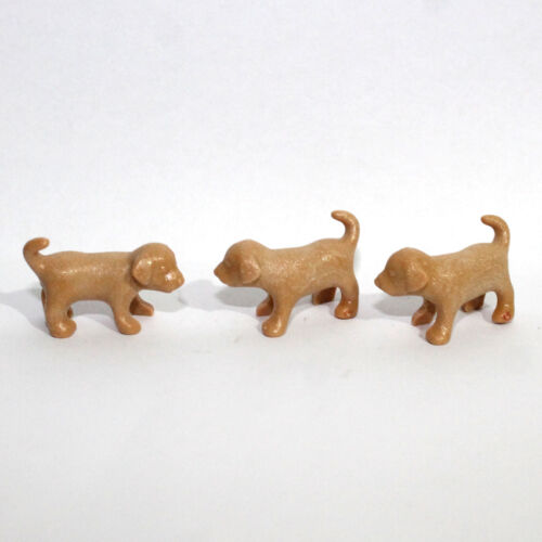Playmobil 3 Small Dogs Animals Puppies