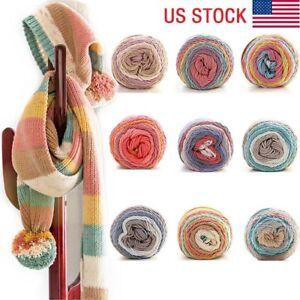 5-shares-100G-Color-Sweater-DIY-Cotton-Crochet-Knitting-Woolen-Yarn-Hand-woven