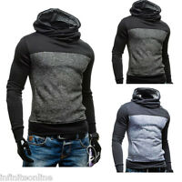 New Men's Cotton Long Sleeve Hoodies Sweatshirt Casual Hooded Pullover Outerwear