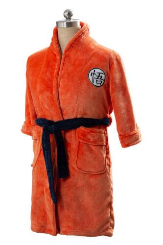 Kid/'s /& Adult Bathrobe Dragon Ball Son Goku Cosplay Bath Robe Sleepwear Pajamas