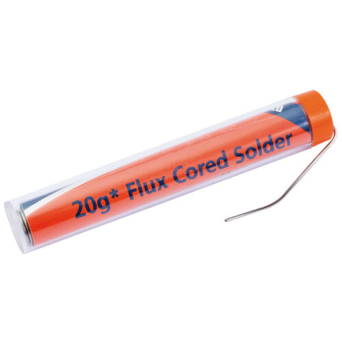 Draper 19225 20G Tube of K60//40 Tin Lead Solder Wire Soldering Flux Electric Gun