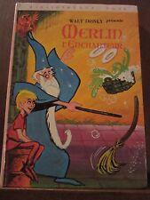Walt Disney présente Merlin l'Enchanteur/  Bibliothèque Rose