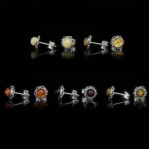 Amberta-Genuine-925-Sterling-Silver-Earrings-with-Natural-Baltic-Amber-Gemstone