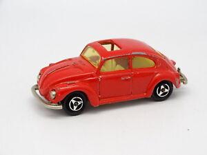Vw Beetle Cabrio Rot Street Cars Majorette 212053051 Neu