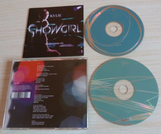 RARE VERSION 2 CD ALBUM SHOWGIRL HOME COMING LIVE KYLIE MINOGUE 2007