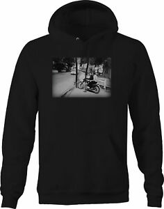 Bob Dylan Motorcycle Vintage Classic Rock Roll Artist Sweatshirt