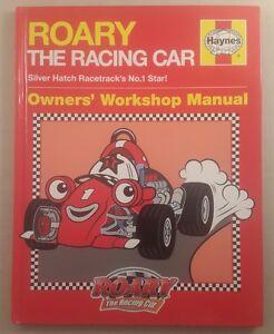 Roary-the-Racing-Car-Manual-by-Haynes-Publishing-Group-Hardback-2010-H4959