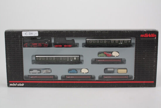 Z 81428 Zugset SYLT con locomotiva + auto Transporter PERFETTE CONDIZIONI SCATOLA ORIGINALE