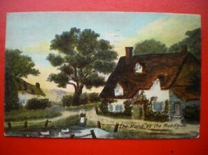 POSTCARD SOCIAL HISTORY THE POND BY THE ROADSIDE - Tadley, United Kingdom - POSTCARD SOCIAL HISTORY THE POND BY THE ROADSIDE - Tadley, United Kingdom