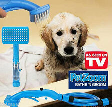 Petzoom Bathe n' Groom Dog Cat Washing Grooming System Pet Supplies Pet zoom