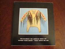 Sotheby Parke Bernet Catalogue Pre-Columbian & American Indian Art Mar 78  14/20