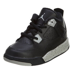 2375a5b33c424b Nike Air Jordan 4 Retro LS BT Infant Shoes Oreo Black Tech Grey ...