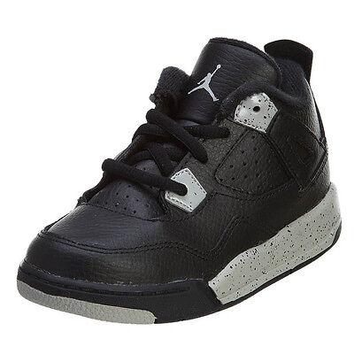 reputable site a706b 48f1f Nike Air Jordan 4 Retro LS BT Infant Shoes Oreo Black Tech Grey Black  707432 003 | eBay