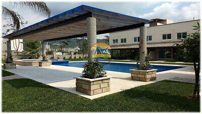 Casa con alberca, jardines, roof garden, 3 recámaras 26 casas por kloster