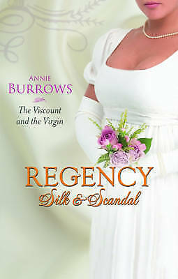 1 of 1 - Burrows, Annie, The Viscount and the Virgin (MB Continuities), Very Good Book