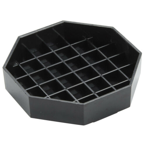 "6/"" Black Octagon Pitcher Drip Tray   FREE SHIPPING US ONLY"