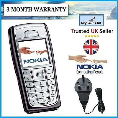 New Condition Nokia 6230i Unlocked Camera Bluetooth Classic Mobile Phone Brand