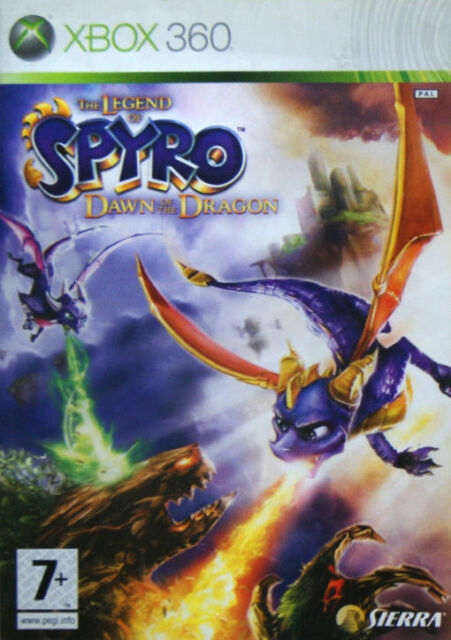 The Legend of Spyro Dawn of the Dragon (Xbox 360, 2008) Fast Free UK Postage