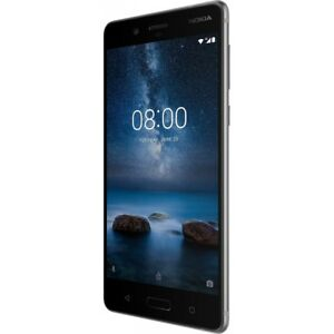 Nokia-8-Steel-Grey-Android-Smartphone-Handy-ohne-Vertrag-LTE-4G-64GB-Aluminium