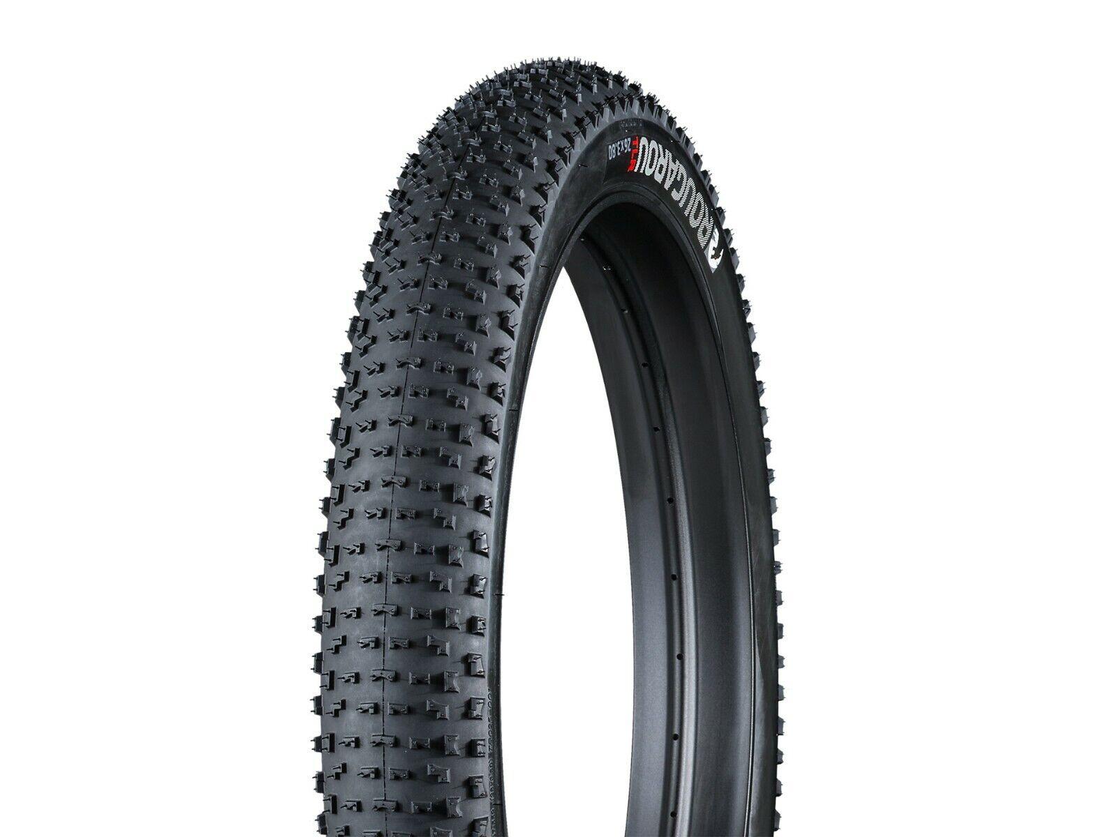 Bontrager Rougarou Fat Bike Tire 26 X 3.8 TLR Tubeless 60 tpi MTB 513949 New