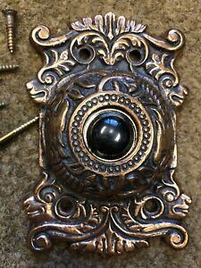Image is loading Antique-Vintage-Brass-Dragon-Door-Bell-Cover-Doorbell & Antique Vintage Brass Dragon Door Bell Cover Doorbell | eBay