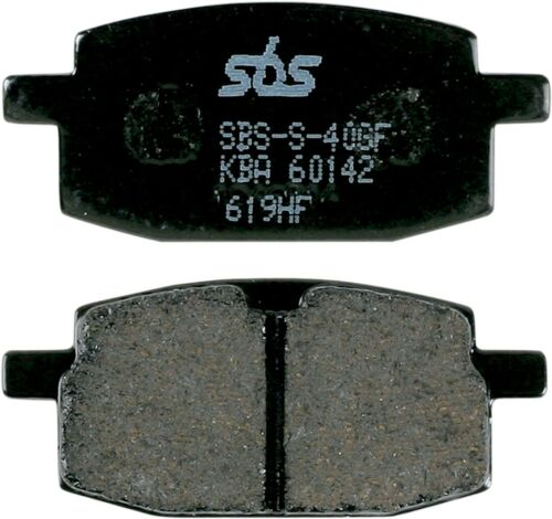 SBS HF Ceramic Organic Brake Pads Front fits Yamaha YW50 Zuma 50 2002-2011