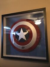 Captain America Shield Signed Stan LEE MARVEL COMICS PSAdna Spider-Man Hulk Iron