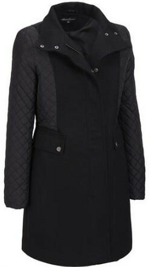 Kenneth Cole Women's Asymmetrical Wool-Blend Walker w  Quilted Sleeves Size 6