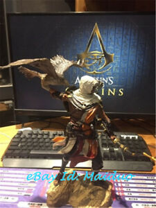 Bayek Figure Senu Eagle Assassin S Creed Statue Model Collections