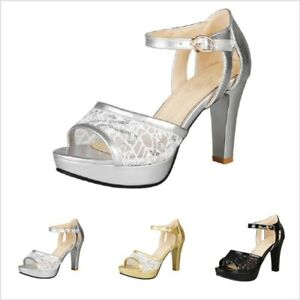 Women Mesh Ankle Strap Casual Sandals
