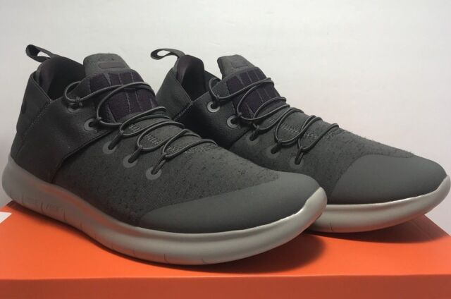 newest cc69a 1b5c4 Nike Mens Size 9.5 Free RN Run CMTR 2017 PRM Premium Running Grey Shoes  AA2430