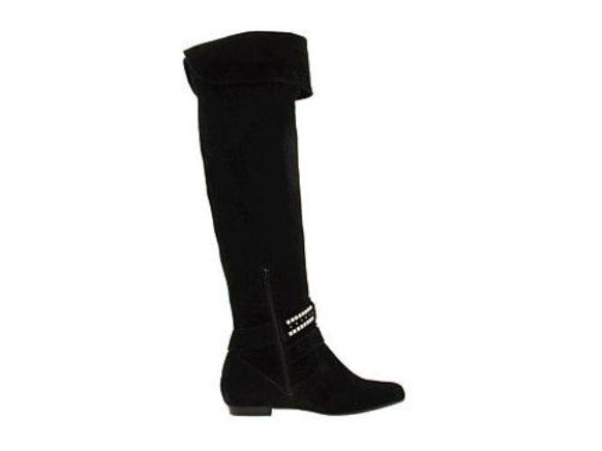 Bon chic bon genre Bcbgeneration Cristina Negro Sobre La Rodilla 6.5 Alto Hebilla Botas de EE. UU. 6.5 Rodilla 7 I Love Zapatos 54187d