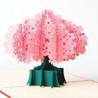 3D Pop Up Card Cherry Blossom Sakura Birthday Valentine Christmas Wedding
