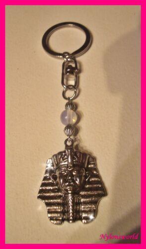 Tutanchamun Mondsteinperle Schlüsselanhänger Taschenanhänger NEU ++ c451