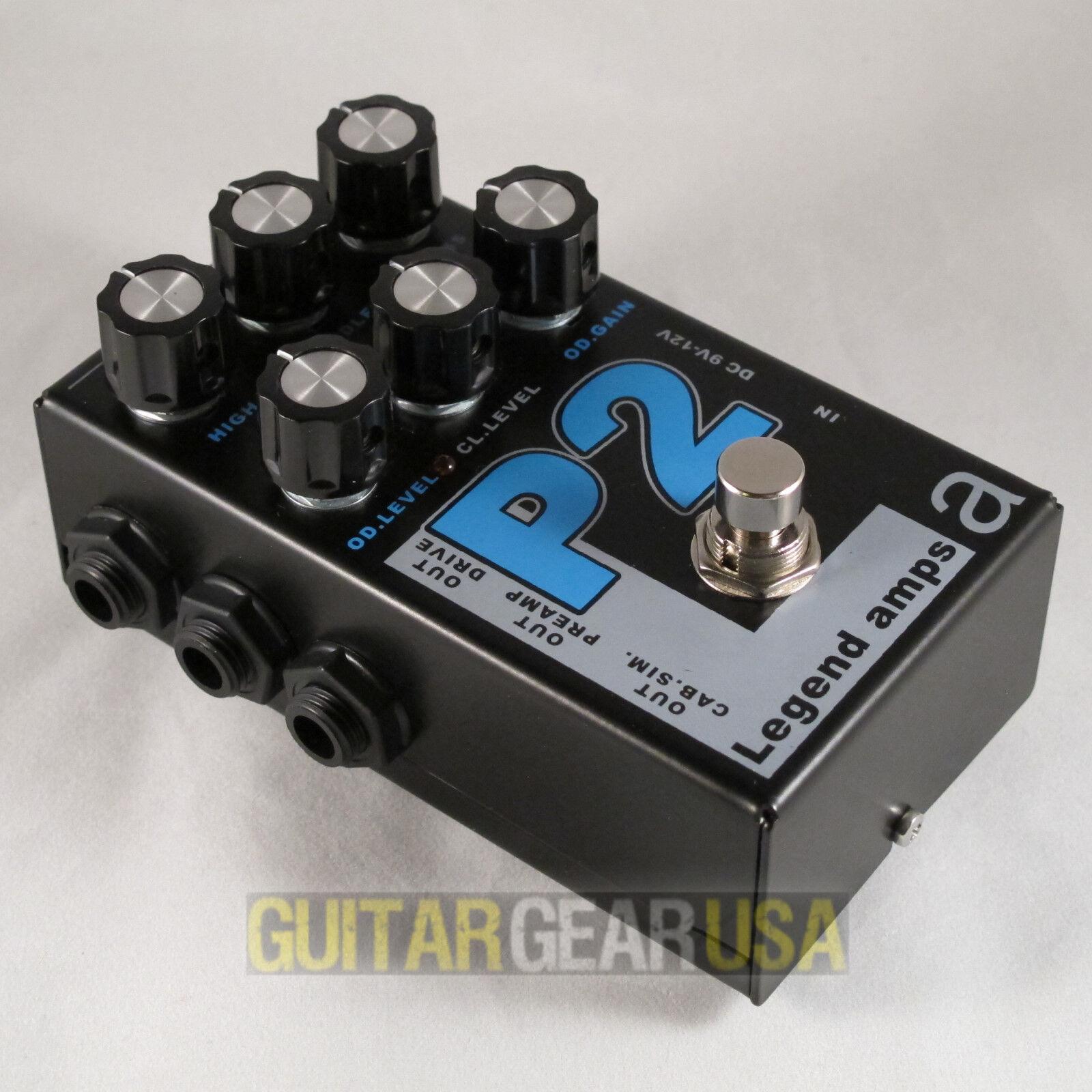AMT Electronics Guitar Preamp P-2 (Legend Amp Series 2) emulates Peavey 5150