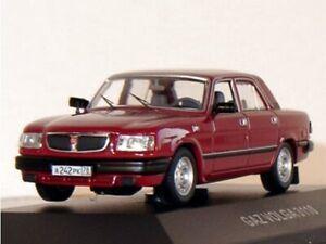 GAZ Volga 3110 - 1997 - darkred - IST 1:43