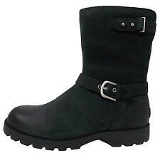 Ugg ® Australia Grandle negro cuero Biker Boots Botas Uk 5.5 EU 38 US7 RRP £ 250