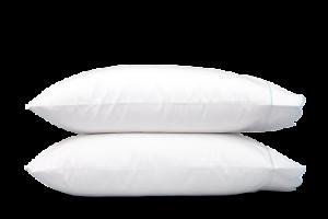 Matouk Butterfield Standard Pillowcase - Pair, bluee