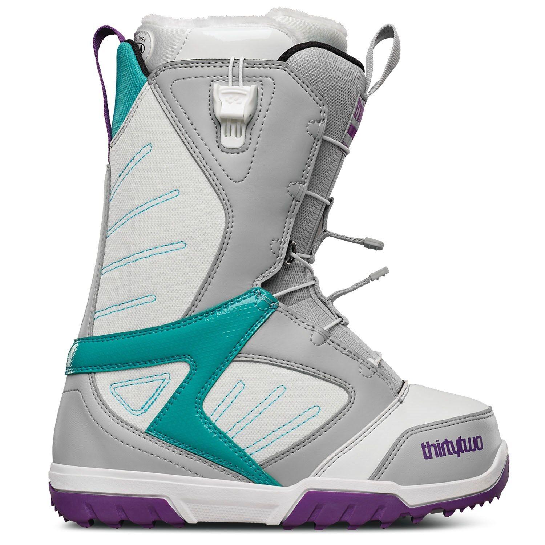 ThirtyTwo Women Groomer Ft Snowboard Boots (7) Grey   White