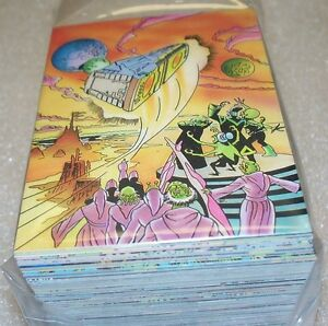 Hitchhikers Guide To The Galaxy    100  Base Set   Trading Cards