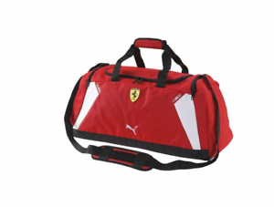 8f2e9ea95 Image is loading PUMA-PMMO1004RED-FERRARI-REPLICA-MEDIUM -TEAMBAG-Red-Polyester-