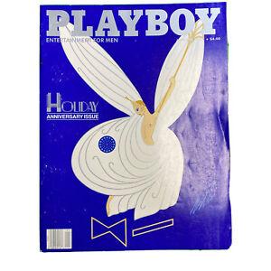 PLAYBOY Magazine Vintage Centerfold January 1987 Holiday Anniversary Issue