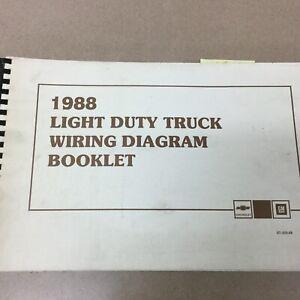 1988 GMC Light Duty TRUCK WIRING DIAGRAM ELECTRICAL ...